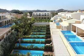 chambre d hotel avec piscine privative hôtel 5 the ixian grand grece trianta ixia