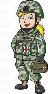 A Female Army Medic