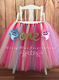 Baby Shark First Birthday High Chair Tutu, Girls 1st Birthday ... Cheap Tutu For Birthday Find Deals On Line At New Arrival Pink And Gold High Chair Tu Skirt For Baby First Amazoncom Creation Core Romantic 276x138 Babys 1st Detail Feedback Questions About Magideal Baby Highchair Chair Banner Elephant First Decor Unique Tulle Premiumcelikcom Hawaiian Luau Decoration Tropical Etsy Evas Perfection Premium Toamo Black And Red Senarai Harga Aytai Blue Decorations Girl Inspirational