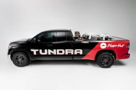 100 Truck For Hire The Tundra PIE Pro Is A Pickup Truck That Makes Pizza Hut On The Go