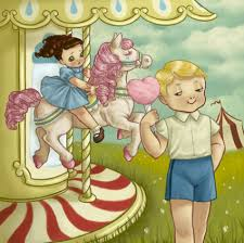 The story and illustration for this song appears on the ninth page of the Cry Baby storybook