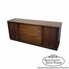 Broyhill Brasilia Magna Dresser by Walnut Dresser Vanity Mid Century Modern Antique Furniture Ebay