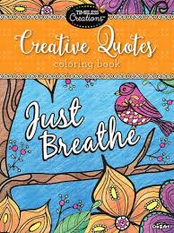 Cra Z Art Timeless Creations Creative Quotes Coloring Book