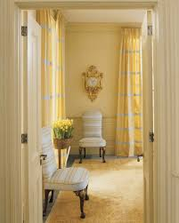 yellow rooms martha stewart
