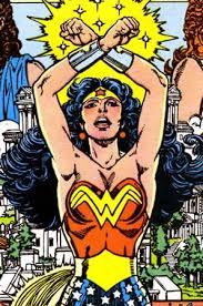 Diana Of Themyscira Doing An Amazon Salute Wonder Woman Appearances