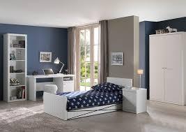 chambre enfants complete chambre à coucher enfant complète design robinson coloris blanc