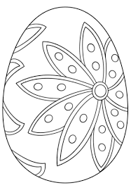 Click To See Printable Version Of Fancy Easter Egg Coloring Page