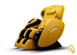 Inada Sogno Dreamwave Massage Chair Uk by Is Groove Massage Chair In Mustard Luxurious Full Body Massage