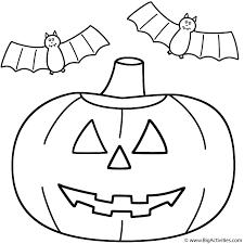 Pumpkin Jack O Lantern With Bats