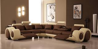Brown Sectional Living Room Ideas by Living Room Glass Window Wooden Floor Brown Sofa Cushions Beige