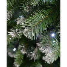 6ft Pre Lit Christmas Trees Black by Pre Lit Slim Frosted Christmas Tree With 200 White Led Lights 6