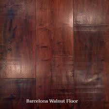 An Elegant Dark Finish That Takes Advantage Of Walnuts Natural Tones Made From Re Purposed Or FSC Walnut Flooring With Hit