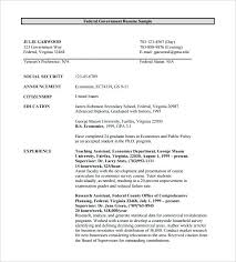 Government Resume Example Jobs Federal Template Free Word Excel Format Download