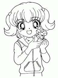 Cute Coloring Pages For Girls AZ