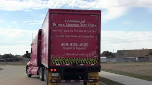 100 Cdl Test Truck Class A CDL Road Backing Parallel Park Garland Texas Video