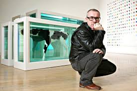 damien hirst s pickled cows help tate modern pull in record 5 3m