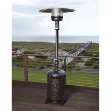 Living Accents Patio Heater by Uniflame Slate Mosaic Propane Fire Pit Table With Free Cover