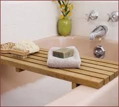 bathtub caddy with reading rack home design ideas