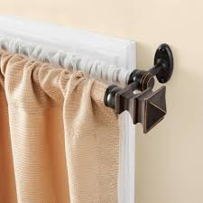 Spring Loaded Curtain Rods Ikea by Double Curtain Rods Linden Street Double Curtain Rod Jcpenney