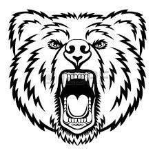 Grizzly Bear Coloring Pages Reaic Drawing Page