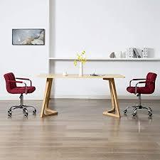 vidaxl 2x esszimmerstuhl drehbar bürostuhl drehstuhl