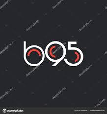 100 B95.com Round Logo B95 Logo Stock Vector Brainbistro 166209618