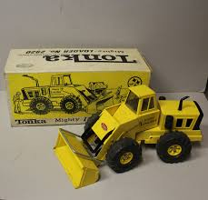 Bargain John's Antiques | Tonka Metal Mighty Loader Toy Truck ...