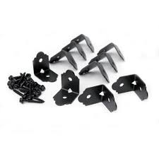 Decorative Angled Joist Hangers by Amazon Com 2 In Decorative Rafter Clip Angle Brackets Home