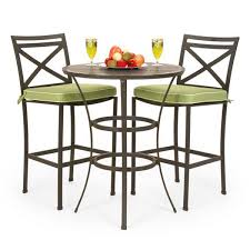 Bar Height Bistro Patio Set by Bar Height Outdoor Table Gccourt House