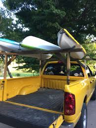 Diy Kayak Rack On The Cheap. Spent $1.84 On Hardware So Far... Still ... Build Diy Wood Truck Rack Diy Pdf Plans A Bench Press Ajar39twt Pvc Texaskayakfishermancom Popular Car Top Kayak Rack Mi Je Bed Utility 9 Steps With Pictures Rooftop Solar Shower For Car Van Suv Or Rving Ladder Truck 001 Wonderful Ilntrositoinfo Tailgate Bike Pad Elegant Over Android Topper Pin By Libby Dunn On Tacoma Pinterest Hitch Bed Mounted Bike Carrier Mtbrcom Bwca Home Made Boundary Waters Gear Forum