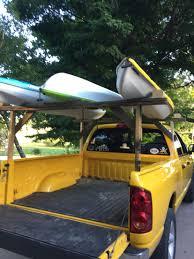 100 Kayak Rack For Pickup Truck Diy Kayak Rack On The Cheap Spent 184 On Hardware So Far Still