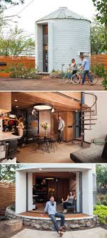 100 Small Cozy Homes 1950s Grain Silo Transformed Into A Sleek And Home For