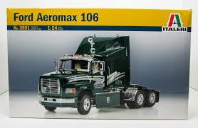 100 Model Truck Kits Ford Aeromax 106 Tractor Italeri 3891 124 New Plastic
