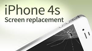iPhone 4s screen replacement disassembly and reassembly english