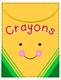 Empty Crayon Box Clipart