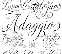 fonts typefaces and all things typographical — I love Typography