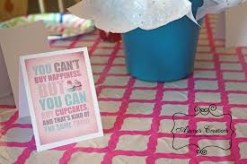 Cupcake Wars Birthday Party Table Decorations And Centerpiece Included Fun Quotes