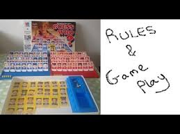 How To Play Guess Who Board Game Instructions Set Up Rules