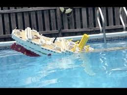 search result youtube video lego britannic sinking