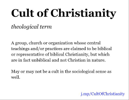 Cult Of Christianity Definition