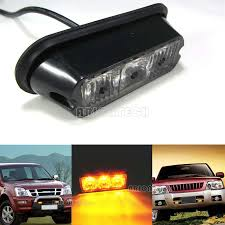 Amber 3 LED Waterproof Grille Car Truck Strobe Flash Emergency ... 36w Amber Truck 12led Flash Emergency Hazard Warning Strobe Light Red Blue 16 Led Lights High Intensity Car Trailer Side Marker Strobe Lights 612 Flashing White Recovery Beacon 18led Firefighter Vehicle Dash Can Civilians Use In Private Vehicles Xyivyg 54 Bars Deck China Power Super Bright Tractor 3 Inch 45w Light V16 For American Simulator Ultra Slim Waterproof 18w 6led Surface Mount Minibrights Watt Amber Markerstrobe Peterbilt Tow