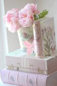 Pink Peonies Print Dreamy Shabby Chic Decor Baby Girl Nursery Romantic Photo