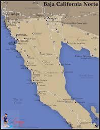 Baja Norte Surf Map