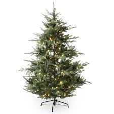 Artificial Cedar Christmas Tree With Lights