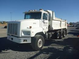 100 Tri Axle Dump Trucks 1996 International Paystar 5000 Truck Caterpillar