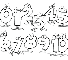 Thanksgiving Number Coloring Pages Numbers For Toddlers Free Preschoolers