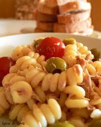 salade de pâtes froide thon mayonnaise recettes du monde autour
