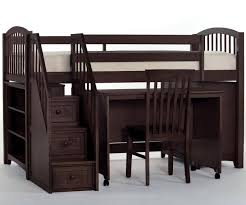 Low Loft Bed With Desk Plans by Full Size Low Loft Bed Plan U2014 Modern Storage Twin Bed Design