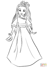 Click The Disney Descendants Auradon Coronation Lonnie Coloring Pages To View Printable Version Or Color It Online Compatible With IPad And Android
