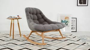 KOLTON ROCKING CHAIR GREY